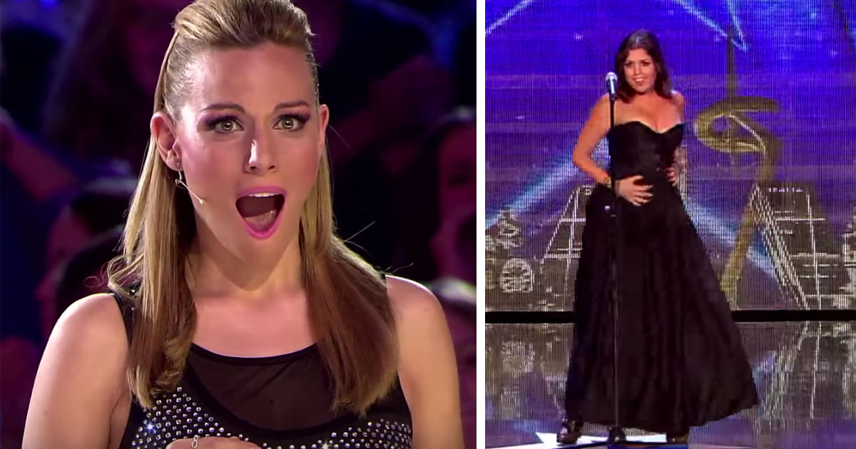 She sang opera, but left the judges speechless when she suddenly changed the song to this classic
