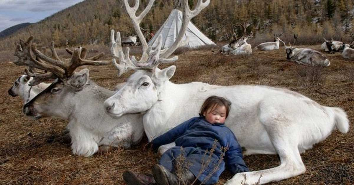 A photographer visited an abandoned mongolian tribe. These pictures are crazy!