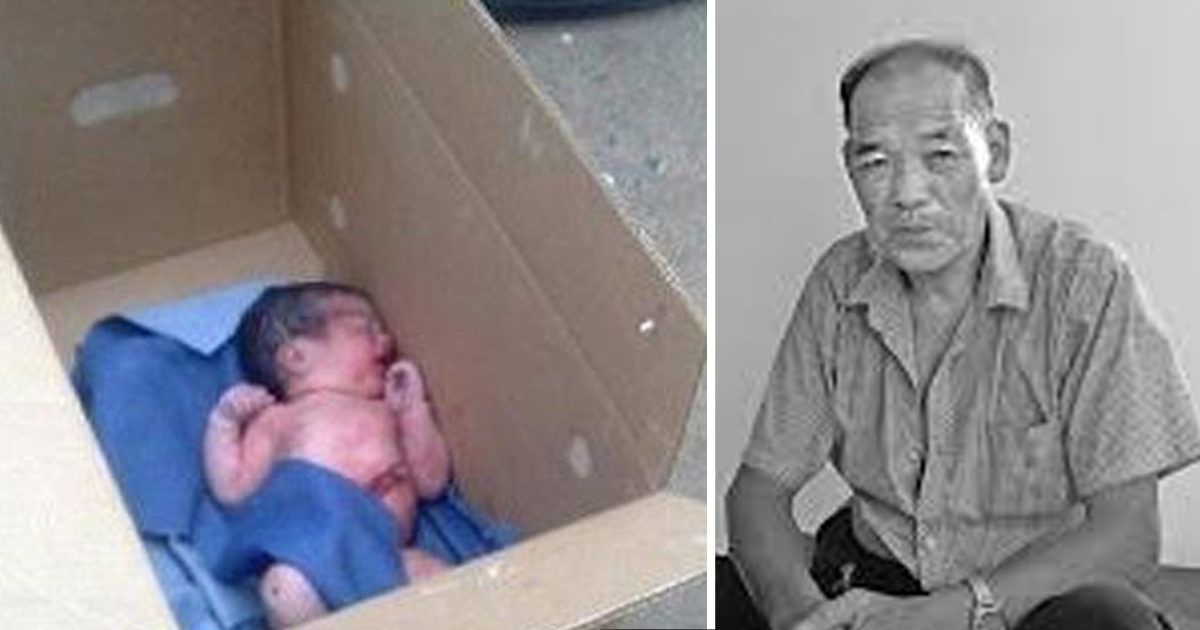 Man found baby inside shoe box, later he found another one, and he realized the heartbreaking truth