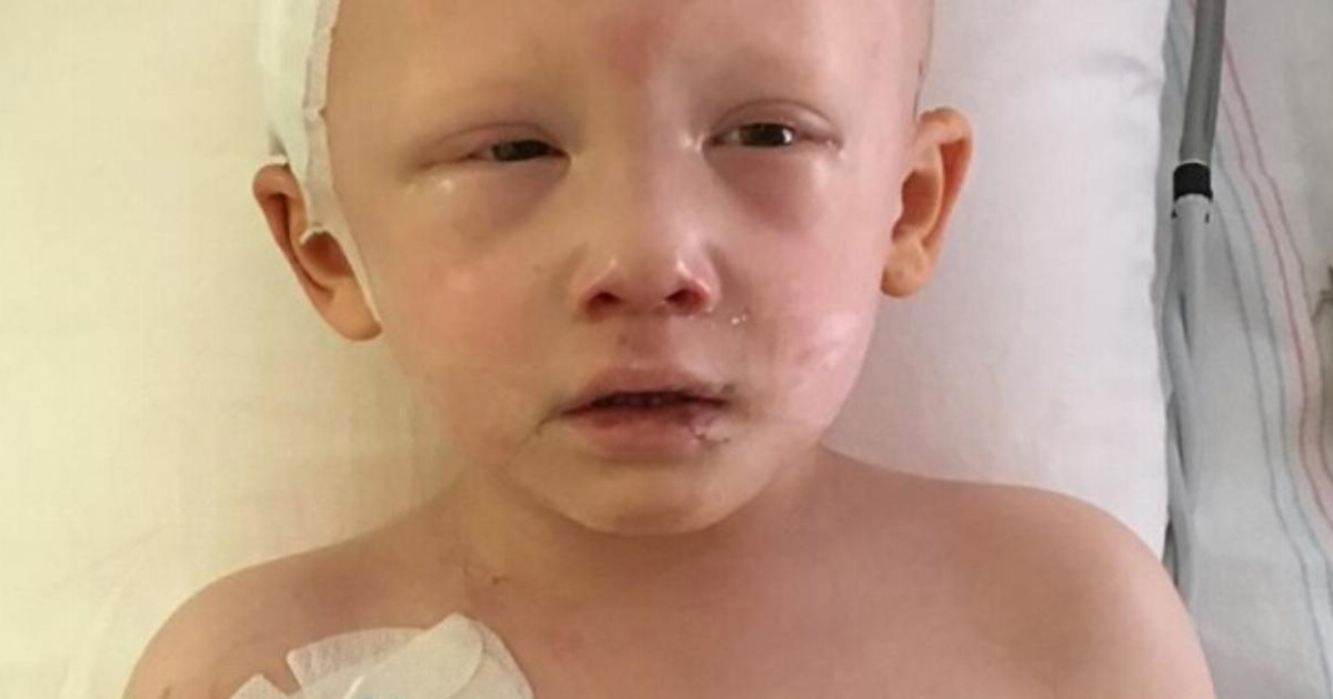 A 4-year-old boy was dying of cancer - but then he opened his eyes and said four words..