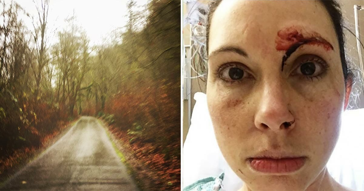 A scum tried assaulting a woman who was jogging in the forest - and immediately understood what a mistake he made