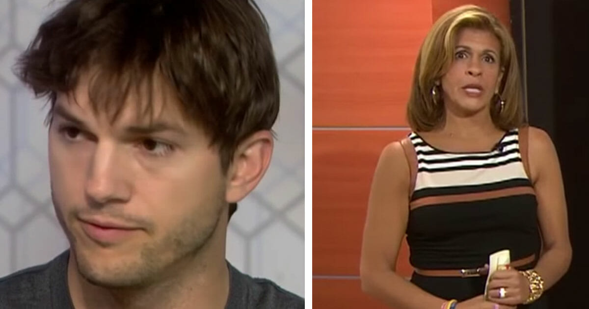 TV host asked Ashton Kutcher how she should pray for him - his immediate answer stunned everyone
