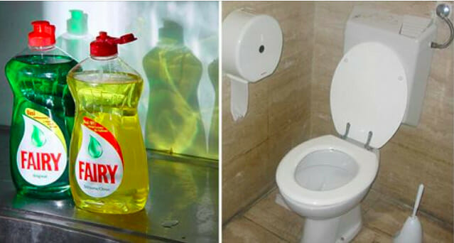 Why you need to flush dishwashing liquid in the toilet - the reason is much smarter than you think