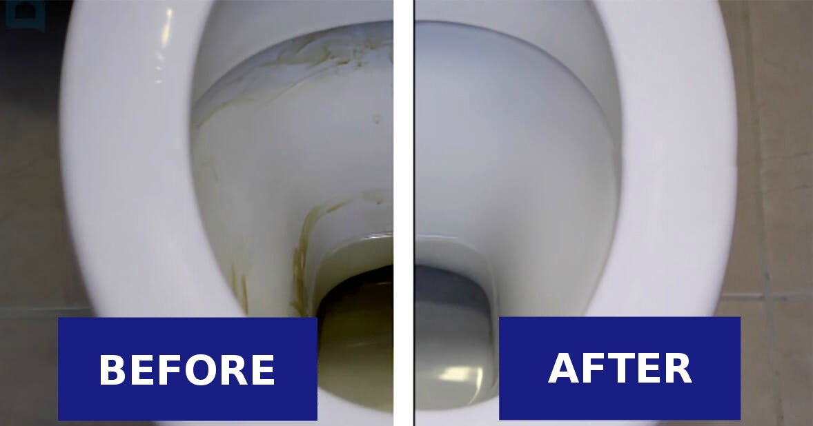 Genius: With this easy and cheap trick your toilet will always be shiny and clean