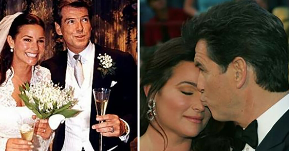 After 25 years of marriage, Pierce Brosnan sent his wife an intimate confession about their relationship
