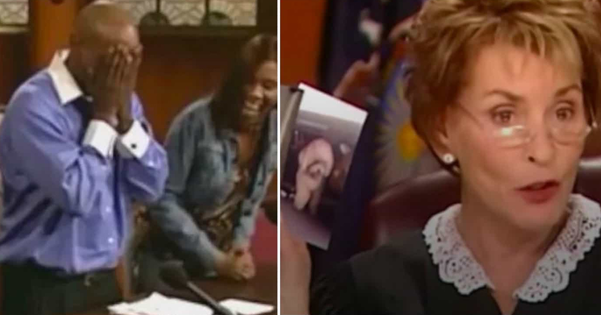 Judge Judy let the dog choose who was his owner, now watch as they let him go on the court floor