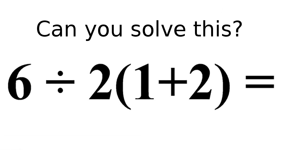 This 'simple' math exercise confuses the entire internet: think you know the answer?