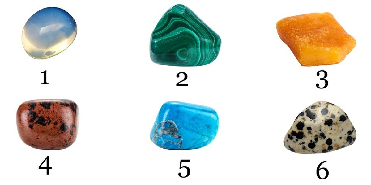 Pick a stone and find out what it says about your personality