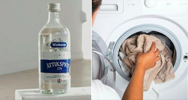 Why you must always wash your clothes with vinegar - the reason is simply genius