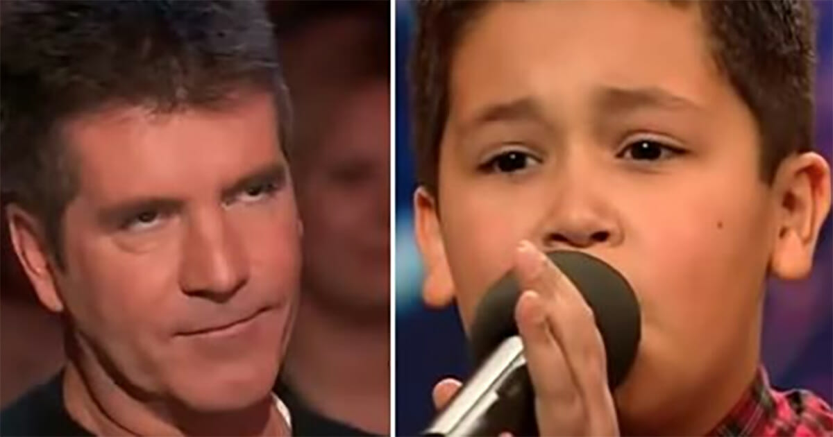 Angry Simon Cowell mocked a 12-year-old on stage - the young boy silenced everyone with a memorable performance