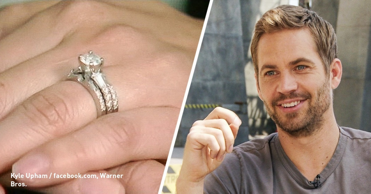 When Paul Walker was alive, he paid $9,000 on a ring for a couple he didn't know, here's the reason why