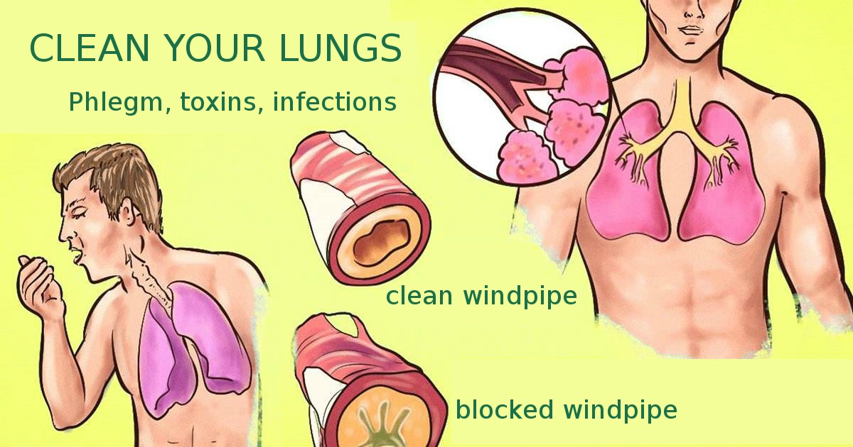 Here's how you'll clear stubborn phlegm from your lungs and throat (instant results!)