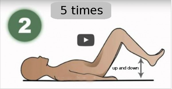 Do this exercise for just one minute each day, and your back pain will go away like magic!