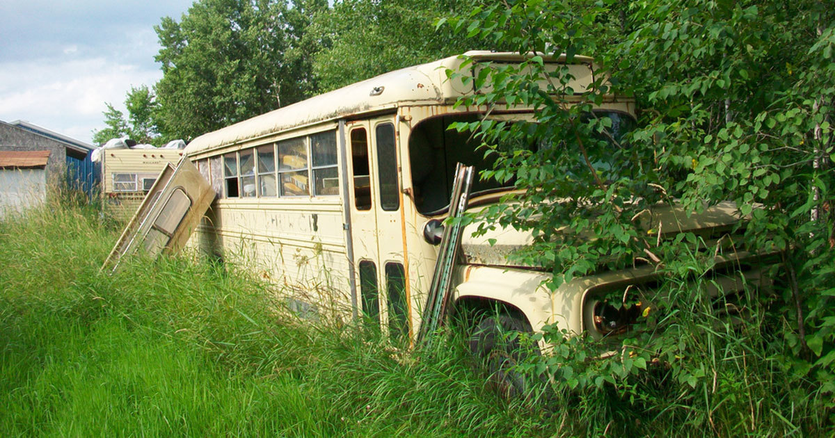 This couple renovated an old bus and the result made me want to leave everything and move in