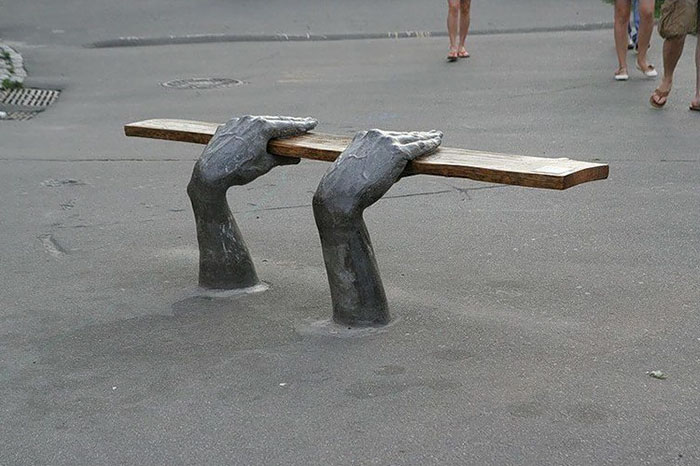 The 16 most creative benches in the world