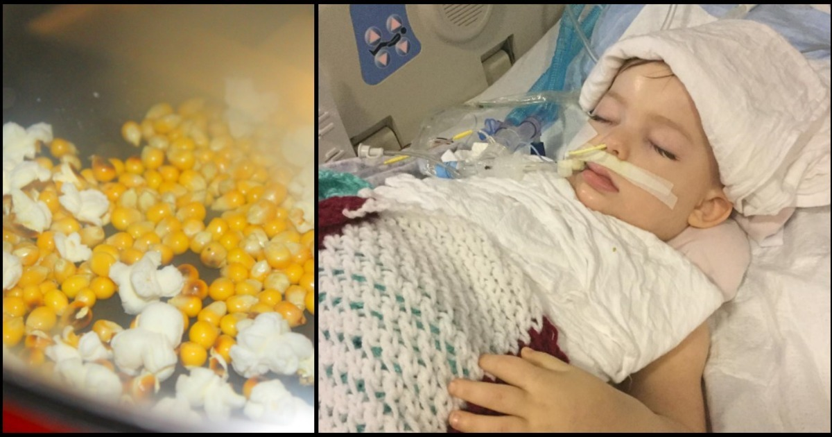 The party ended with a 3-year-old girl in a coma - now her mother wants to warn of this danger