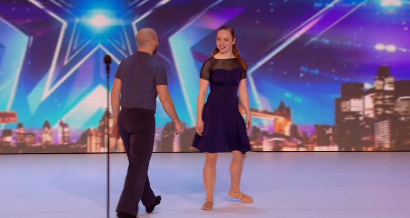 You've never seen a dance performance like this couple's. As they began to dance, the judges were left in shock