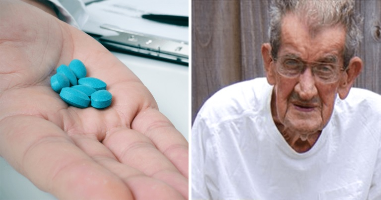 A 93-year-old man takes Viagra every night - his grandson was shocked when he found out why