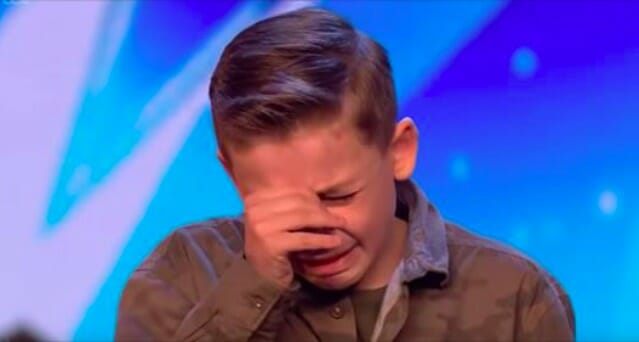 An autistic boy got on stage - seconds later he stunned the judges and moved the audience to tears